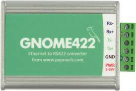 Konwerter Ethernet RS422 - Papouch Gnome (zasilanie 5 do 30 V DC)