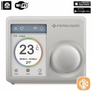 Termostat Wi-Fi - Regulator temperatury Wi-Fi (iOS & Android)